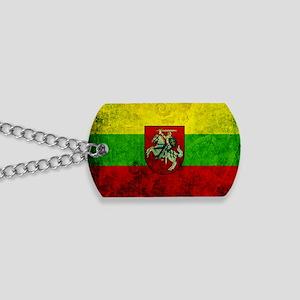 Lithuania Flag Dog Tags
