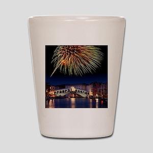 Fireworks display, Venice Shot Glass
