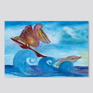 Surfin Buddies Postcards (Package of 8)