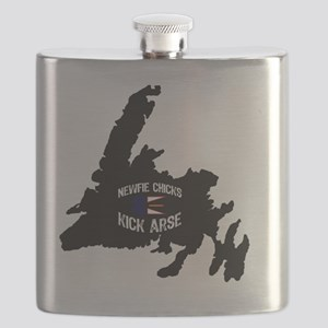 Newfoundland Newfie Chicks Kick Arse Flask