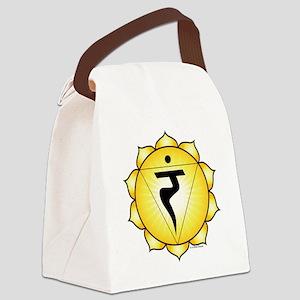 Solar Plexus Chakra Canvas Lunch Bag