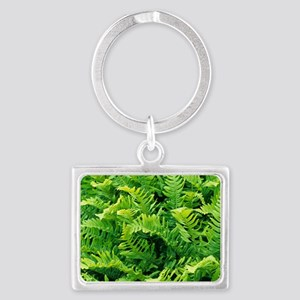 Fern leaves Landscape Keychain