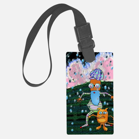 Dwayne and Cain Luggage Tag