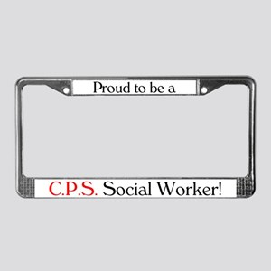 Proud CPS SW License Plate Frame