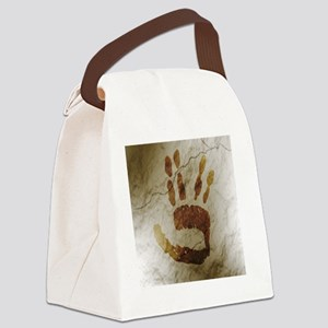 Spock Alien Cave Art Canvas Lunch Bag