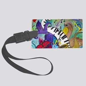 Southern Jazz Large Luggage Tag