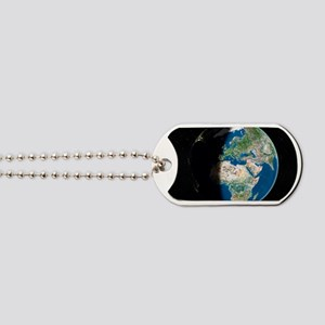 Europe, satellite image Dog Tags