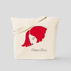 Fitness Diva Tote Bag