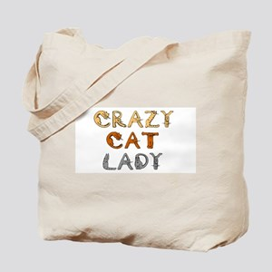 Crazy Cat Lady!!! Tote Bag
