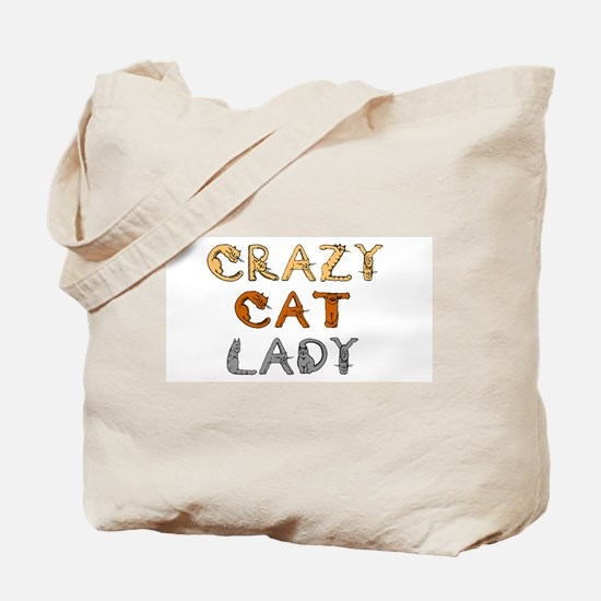 Crazy Cat Lady!!! Tote Bag