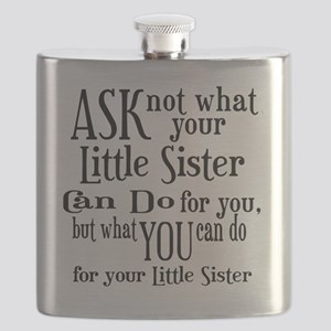 ask not little sister Flask