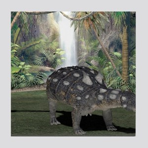 Euoplocephalus, artwork Tile Coaster