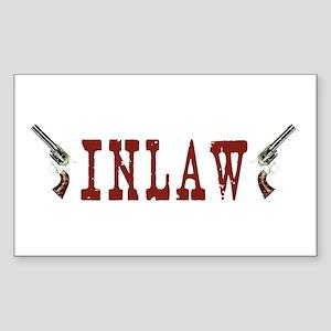 INLAW Rectangle Sticker