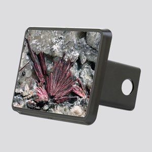 Erythrite crystals Rectangular Hitch Cover