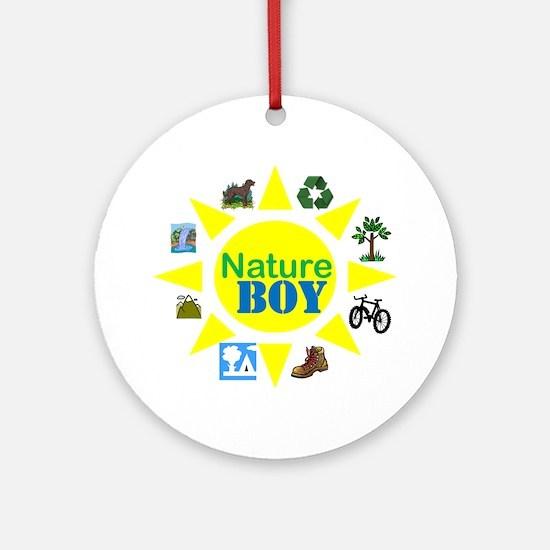 natureboy Round Ornament