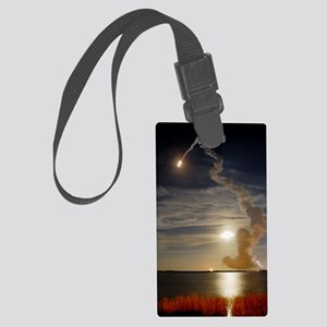 Endeavour shuttle launch, missio Large Luggage Tag
