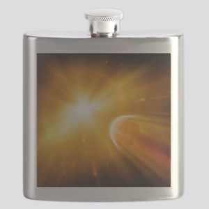 End of the world, artwork Flask