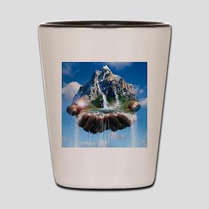 Environmental care, conceptual image Shot Glass