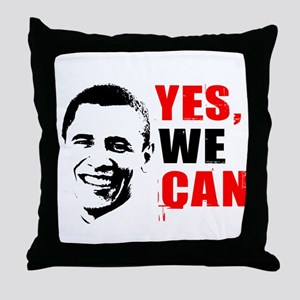 Obama Yes, We Can Throw Pillow