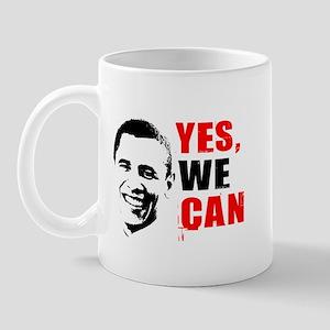 Obama Yes, We Can Mug