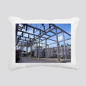 Electricity substation Rectangular Canvas Pillow