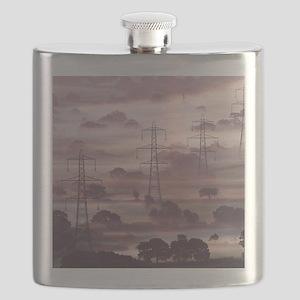 Electricity pylons Flask