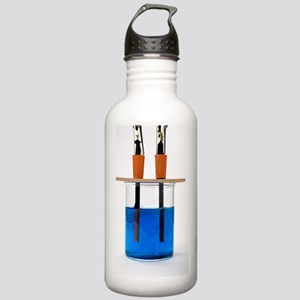 Copper Sulphate Reaction With Ammonia Water Bottles - CafePress