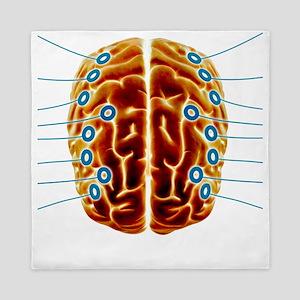 Electroencephalography, artwork Queen Duvet