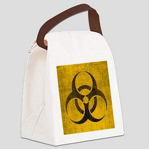 Vintage Biohazard Canvas Lunch Bag