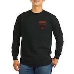 Deployment Zone Long Sleeve Dark T-Shirt