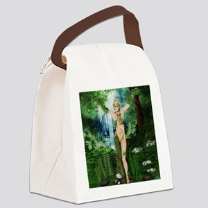 Earth Child Canvas Lunch Bag
