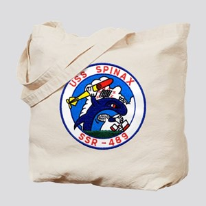 uss spinax ssr patch transparent Tote Bag
