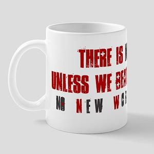 NO Future NO New World Order Bumper Sti Mug