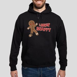 Gingerbread Man Snappy Hoodie (dark)