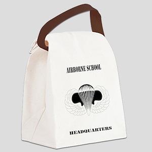 DUI - Airborne School - Headquart Canvas Lunch Bag