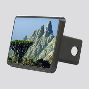 Dragon's blood tree Rectangular Hitch Cover