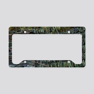 Dry-stone wall License Plate Holder