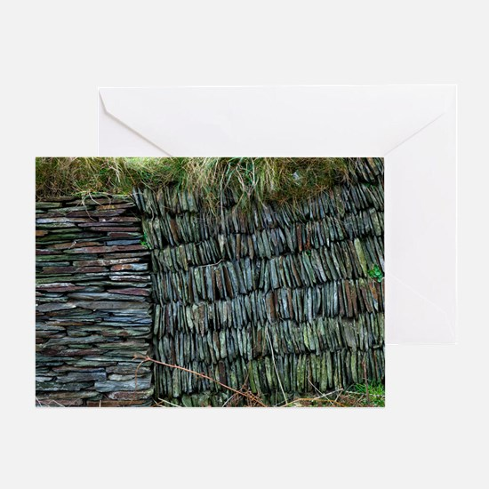 Dry-stone wall Greeting Card