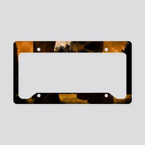 Rustmouth Poster License Plate Holder