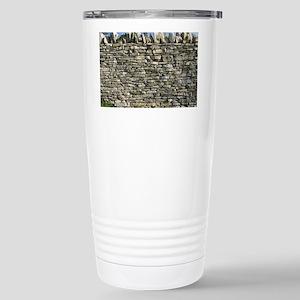 Dry stone wall, Dorset Stainless Steel Travel Mug