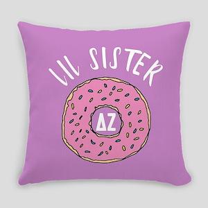 Delta Zeta Lil Donut Everyday Pillow