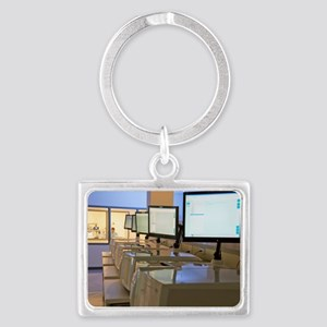 DNA sequencers Landscape Keychain