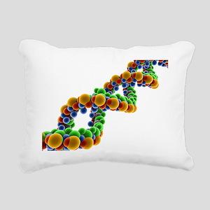 DNA Rectangular Canvas Pillow