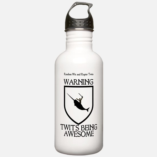 Awesome Black Water Bottle