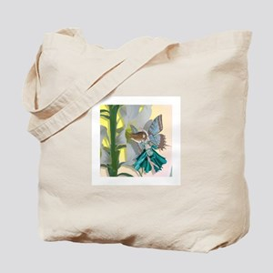Easter Lily Fairy Tote Bag