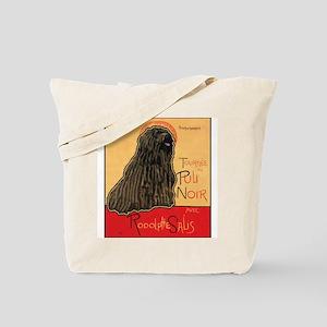 Tournee du Puli Noir Tote Bag