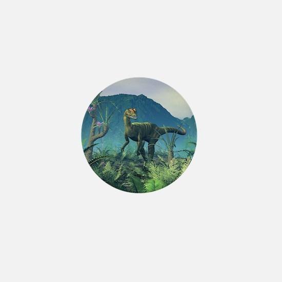 Dilophosaurus, artwork Mini Button