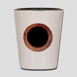 Dilated pupil Shot Glass