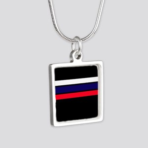 Team Colors 2...red,white and blue Necklaces