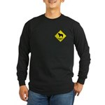 Spanish Crossing Long Sleeve Dark T-Shirt